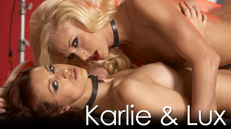 Karlie Montana and Lux Kassidy go wild on pent house